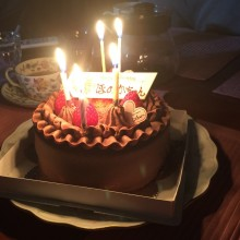 Happy birthday to Me♡