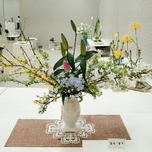 華道 いけばな4月花展☆