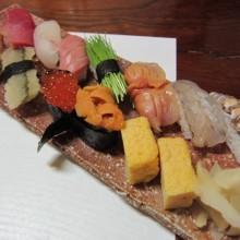 寿司パフォーマンス♪