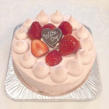 いちごのケーキ♡