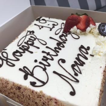 *留学日記*Birthday cake