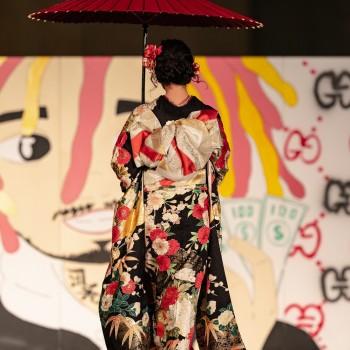 *学園祭*振袖・袴ファッションショー