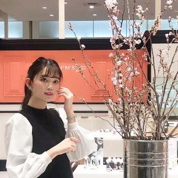 *桜と腕時計*