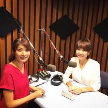Qちゃんのラジオにゲスト出演!