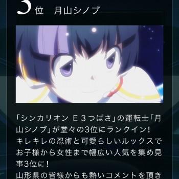 シンカリオンキャラクター投票結果!