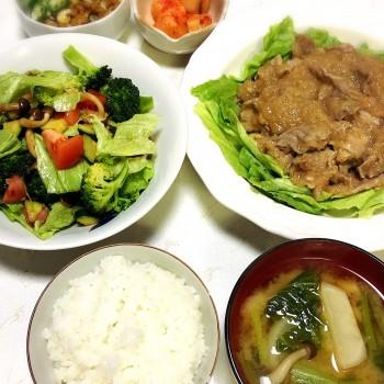 チョップドサラダ〜( ´∀`)