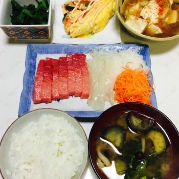 お夕食〜( ^ω^ )