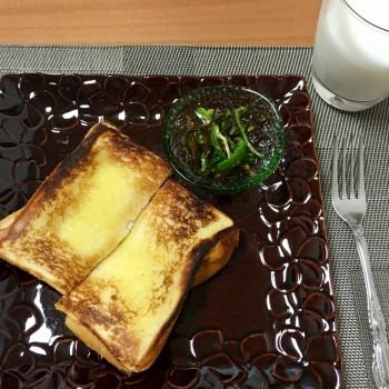 朝食〜(*´∀`)♪