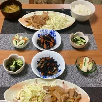 昨日のお夕食〜(*´∀`)♪