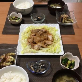昨日のお夕食〜٩( 'ω' )و