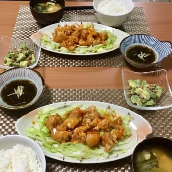 昨日のお夕食〜(*^ω^*)