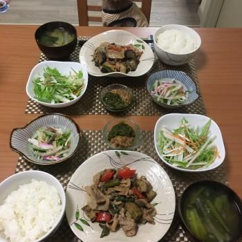 昨日のお夕食〜(´∀`)