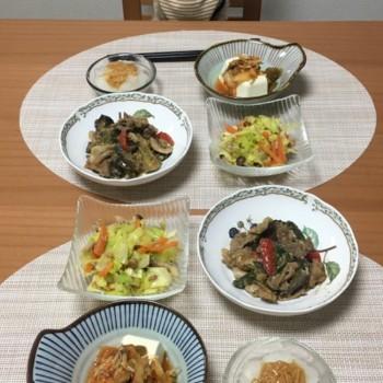 昨日のお夕食〜( ^∀^)