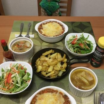 昨日のお夕食〜(*´ー`*)