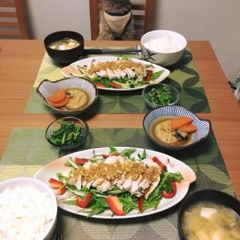 昨日のお夕食〜(*´ω`*)