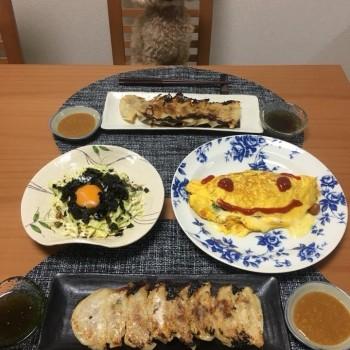 昨日のお夕食〜と今日のランチ(о´∀`о)