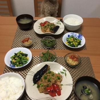 昨日のお夕食〜(๑>◡<๑)