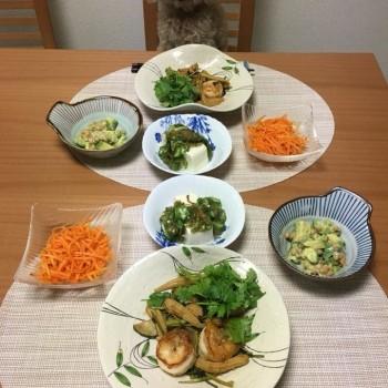 週末のお夕食〜(๑>◡<๑)