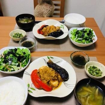 昨日のお夕食〜(*´∀`*)