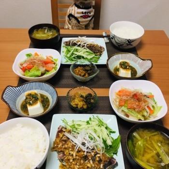 昨日のお夕食〜(*´꒳`*)