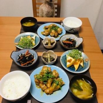昨日のお夕食〜(´∀`*)