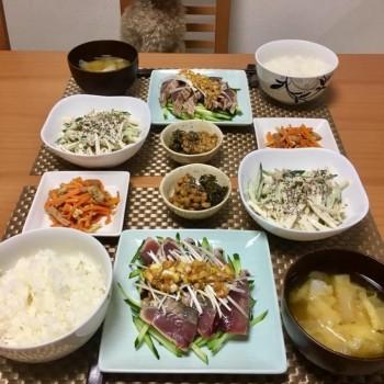 昨日のお夕食〜(≧∀≦)