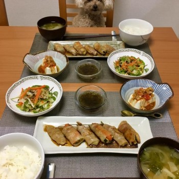 昨日のお夕食〜(*'▽'*)