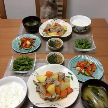 昨日のお夕食〜( ´∀`)