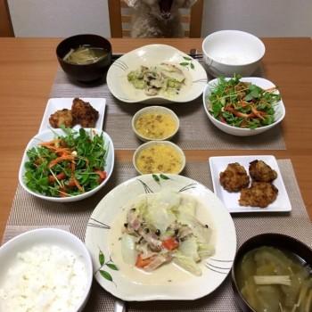 昨日のお夕食〜(╹◡╹)