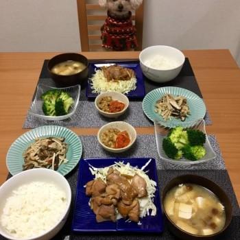 昨日のお夕食〜( ^ω^ )