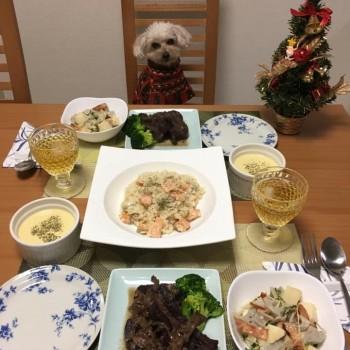 クリスマスディナー(o^^o)
