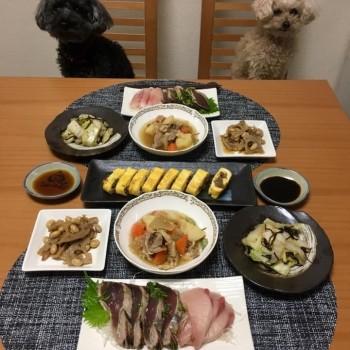 週末のお夕食〜(o^^o)