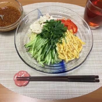 昨日のランチとお夕食〜(╹◡╹)