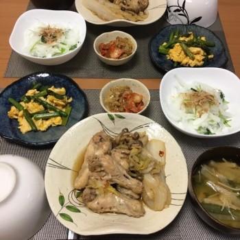 お夕食〜(o^^o)
