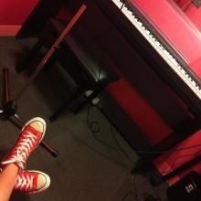 今日もスタジオでボイスレッスン♡