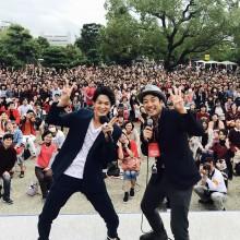 ただいま!大阪城っ!