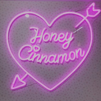 Honey Cinnamon展示会.