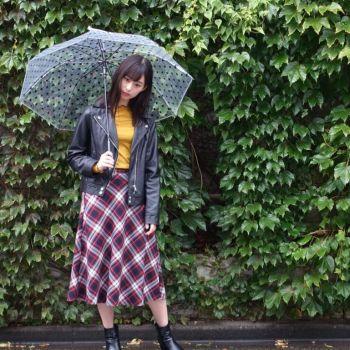 雨の中での撮影☔️