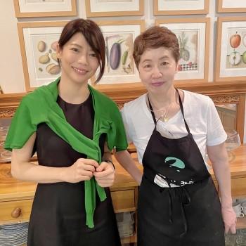 斉藤かすみ先生のフランス料理🇫🇷