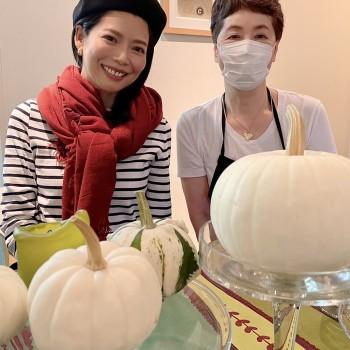 白いかぼちゃの世界🤍