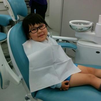 今日は歯医者