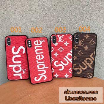ブランドパロディアイフォンケース ハイブランド風iphonexs/xsmax/xr携帯ケース