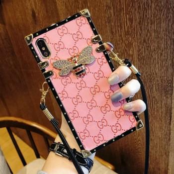 四角型 グッチ iphone xr/xs maxケース 女性向け GUCCI Galaxy note9ケース