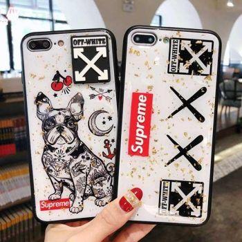 ファッション iphone xr/xsケース supreme 個性 XS MAXケース カコイイ