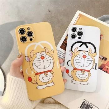 GUCCI 牛ドラえもんコラボ iPhone12/12proケース シャネル iphone12pro maxケース