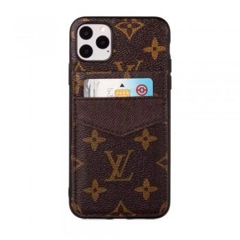 ビジネス風ブランド iphone11/11 pro maxケースルイヴィトン iphone11proケース背面カード入れ