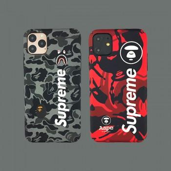 シュプリーム iphone11ケース Aape iphone11pro maxケース オーフホワイトiphone11 proケース 個性人気