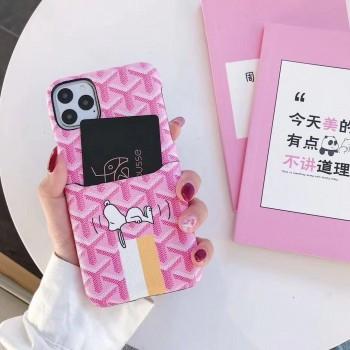 キャラクター付き ゴヤール iphone11proケースブランド iphone11ケースgoyard Airpods proケース