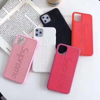 個性潮流シSupreme iphone11pro maxケースブランドiphone11ケースュプリーム Airpods proケース