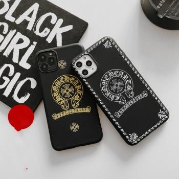 クロムハーツiphone11/11pro maxケースブランド Galaxy s20/s20 plusケースchrome hearts Airpods proケース
